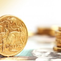 Australian dollar slips below 71 cents as Chinese PMI blips higher
