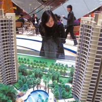 China property prices up in December