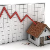House prices fell again in 2012