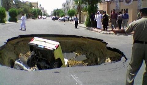 Car Accidents Caused By Potholes