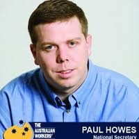 Paul Howes bows out, or does he?
