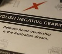 Negative gearing is on the chopping block