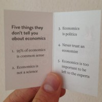 Understanding economics without economists