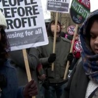 Thousands of Londoners protest over housing crisis