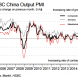 China services PMI slows sharply