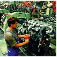Manufacturing moves further out of recession