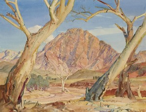 Heysen 1937 Guardian of the Brachina Gorge