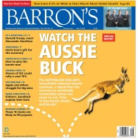 Magazine cover indicator screams Aussie dollar sell