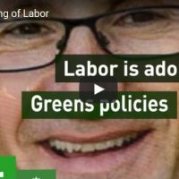 Coalition launches farcical election attack ad