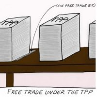 Wake up. The TPP is not about free trade