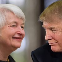 Trump vs Yellen