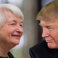 Trump vs Yellen