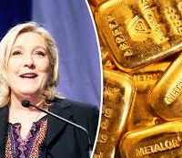 Gold surges with Marine Le Pen