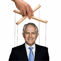 Do-nothing Malcolm dances to Tony Trump's tune