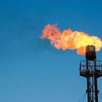 Big Gas burns