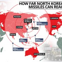 Are Tomahawk's about to rain upon North Korea too?