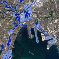 Which suburbs will climate change sink?