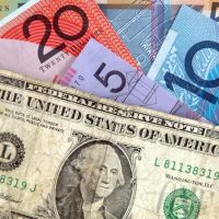 Can the Australian dollar fall as the US dollar does?