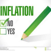Monthly inflation dies
