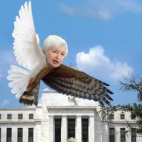 Confident Fed slaps Australian dollar as yield spread tumbles