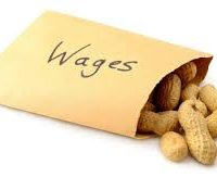 Unless something changes, wage rises are history