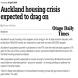 Auckland's housing shortage worsens despite booming construction