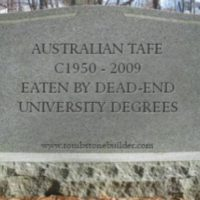 Governments shaft TAFE for dead-end uni degrees