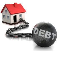 Household wealth falling but debt trap remains