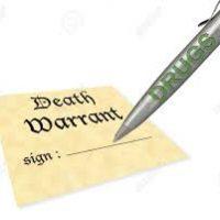 Kenneth Hayne signs Wayne Byers death warrant