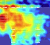 GDP heat map