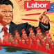 Treasonous Labor grovels furiously as Australians reject China outright