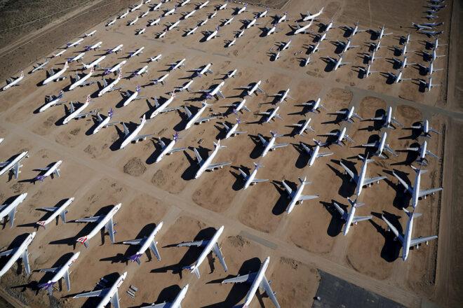 Alice Springs plane graveyard