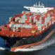 Containers go down with the ships